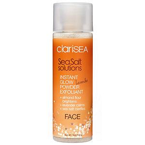 clariSEA Instant Glow Powder Exfoliant - Lavender, 5 oz