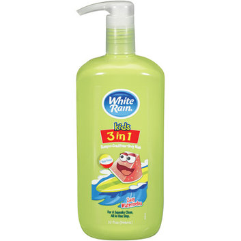 White Rain Kids 3 in 1 Zany Watermelon Shampoo/Conditioner/Body Wash