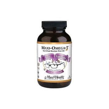Maxi Health Kosher Maxi Omega-3 Fish Oil Eye Formula EPA/DHA 90 MaxiCaps