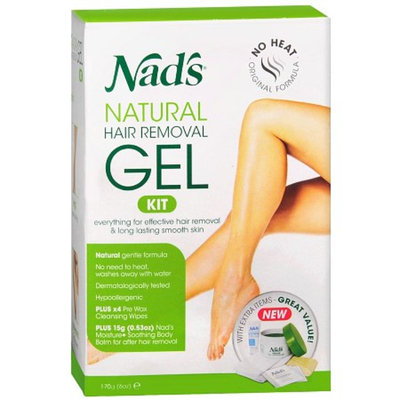 Nad's Gel Kit with Moisture+ Body Balm