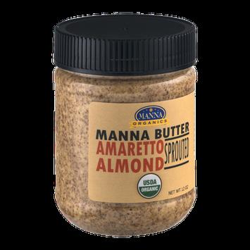 Manna Organics Manna Butter Roasted Amaretto Almond