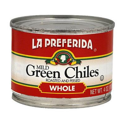 La Preferida Whole Mild Roasted and Peeled Green Chiles