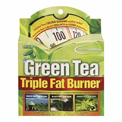 Green Tea Triple Fat Burner Liquid Soft Gels, 30 Ct.