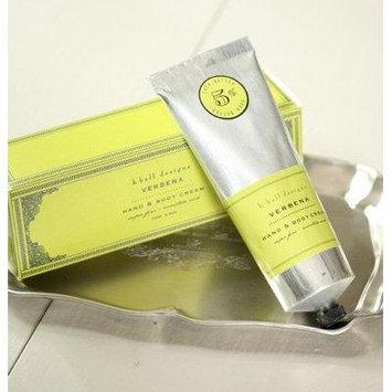 K. Hall Designs Hand & Body Cream 3.4 Oz - Verbena