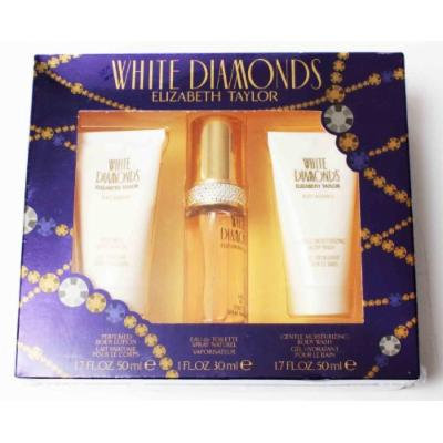 Elizabeth Taylor White Diamonds 3 Piece Gift Set