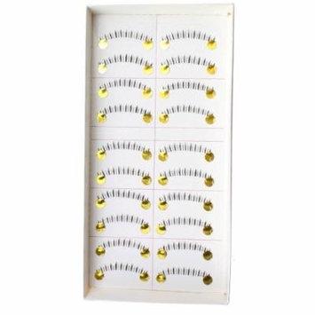 AGPtek® 10 Pairs Handmade Natural Lower Bottom Fake Eyelashes Under EyeLash