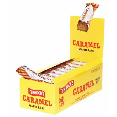 Tunnocks Chocolate Caramel Wafers, 1.19-Ounce Boxes (Pack of 36)