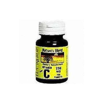 Nature's Blend Vitamin C 250mg Tablets 100 ct