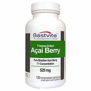 Acai Berry 525mg (120 Vegetarian Capsules)
