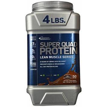 Inner Armour Super Quad Protein Supplement, Chocolate, 4 Pound