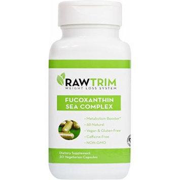 Raw Green Organics - RawTrim - Fucoxanthin Sea Complex - Metabolism Booster - 30 Vegetarian Capsules
