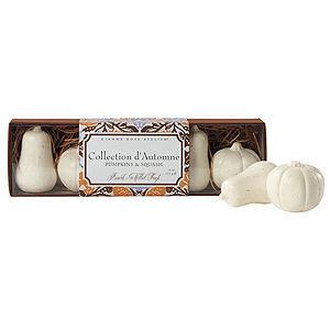 Caswell-Massey Pumpkin & Squash Soaps In Slider Box, 1 set