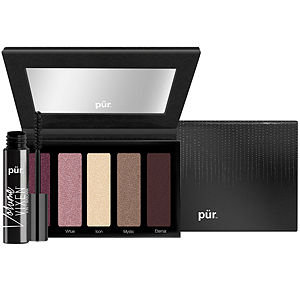 PUR Cosmetics Starry Eyed Eye Shadow Palette with Mascara, 1 kit