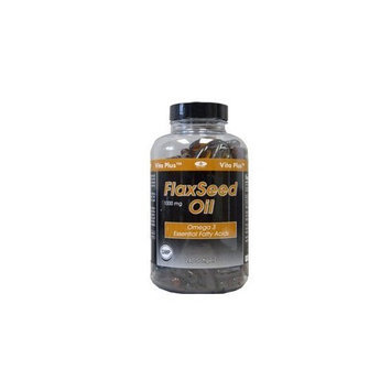 Vitanherbs Vita plus Flax Seed Oil, 240 CAPS 1000 MG