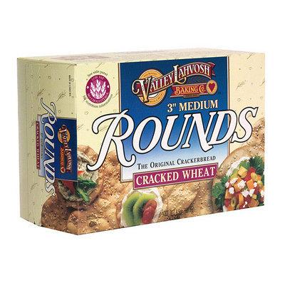 Valley Lahvosh Medium Rounds Cracked Wheat Crackerbread