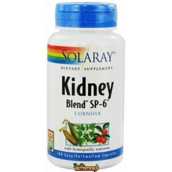 Solaray - Kidney Blend SP-6 Cornsilk - 100 Capsules