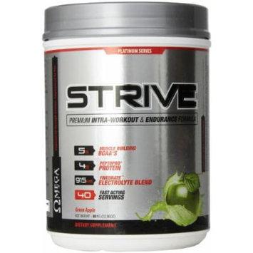 Omega Sports Strive Energy Powder, Green Apple, 651 Gram
