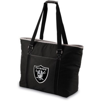 Nfl - Oakland Raiders NFL - Oakland Raiders Black Tahoe Cooler Tote