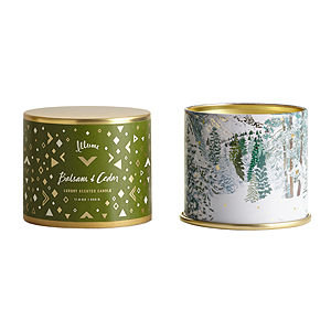 Illume(r) Vanity Tin Candle - Balsam & Cedar by Illume
