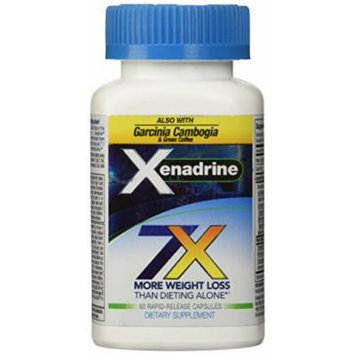 Xenadrine Cytogenics 7X,POWERFUL Weight Loss, & GARCINIA CAMBOGIA , FAT BURNER, 60 Cap
