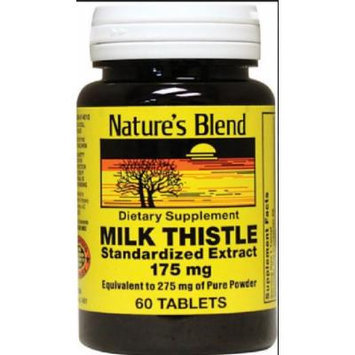 Nature's Blend Milk Thistle Tablets, 175mg, 60ct