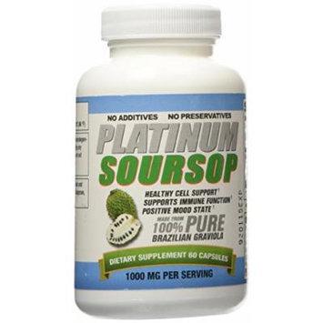 Platinum Soursop - Pure Graviola - 1 Bottle
