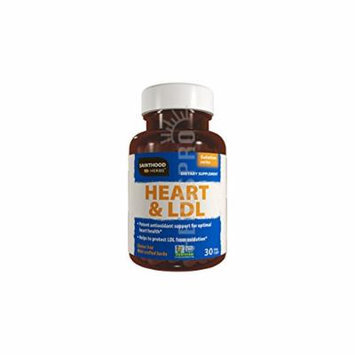HERBTHEORY HEART & LDL SOLUTION, 30 VC