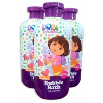 Dora the Explorer Bubble Bath - Berry Adventure *3-Pack* (3x12oz Bottles)