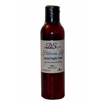 Diva Stuff Hibiscus Lift,Natural Age Prevention, Firming & Acne Healing Facial Night Tonic,4oz