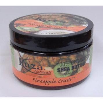 Kuza 100% Organic Shea Butter Skin, Hair, & Scalp, Nails (Pineapple Crush) 3oz