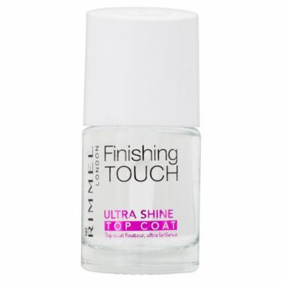 Rimmel Finishing Touch Ultra Shine Top Coat Nail Polish, Ultra Shine, 0.4 Fluid Ounce