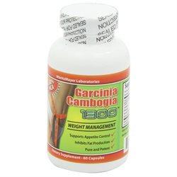 Garcinia Cambogia Extract, 1000 mg, 60 Capsules (Contains 60% HCA)