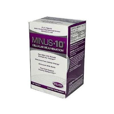 Natrol Minus-10 Cell-Rejuvenating Antioxidant, Tablets 120 ea