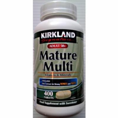 Kirkland Adult 50+ Mature Multi Vitamins & Minerals 1 x 400 tablets
