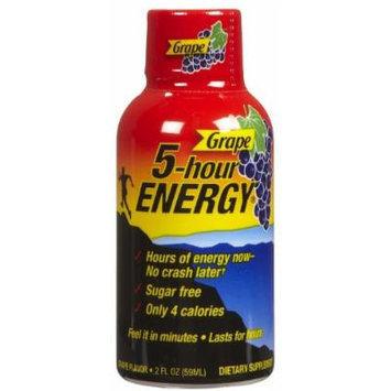 5 Hour Energy Nutrional Drink, Grape, 24 Count, 1.93 Ounce