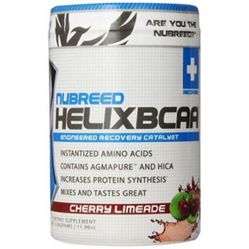 Nubreed Nutrition Helix BCAA Diet Supplement, Cherry Limeade, 339 Gram