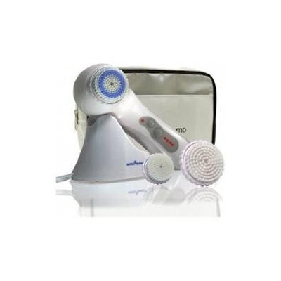 NutraSonic Essential Face And Body Cleansing Brush System White #PE8008White - Personal Care
