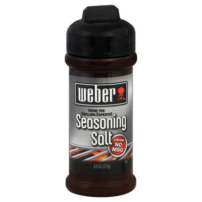 Weber Seasoning Salt, 8 oz (227 g)