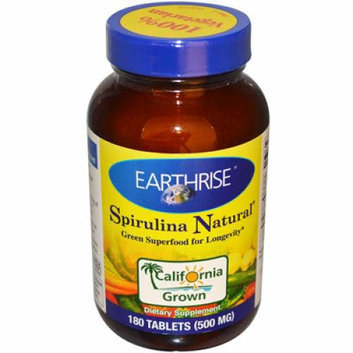 Earthrise Spirulina Natural Tablets