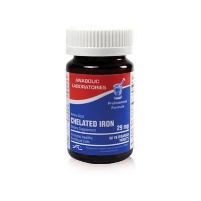 Anabolic Laboratories Iron Chelate, 29 Mg, 90 Tabs