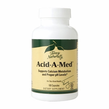 Terry Naturally Acid-A-Med Calcium Metabolism Support, Capsules, 100 ea