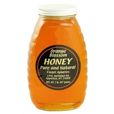 2 Pounds of WNY's Fiegel Apiaries Pure and Natural Orange Blossom Honey