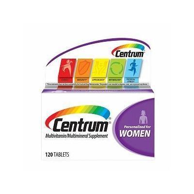 Centrum Women Under 50, Multivitamin, Tablets, 120 ea