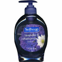 Softsoap Liquid Hand Soap 7.5 Oz Lavender & Chamomile Soothing Scent Pump Dispenser(Pack of 6)
