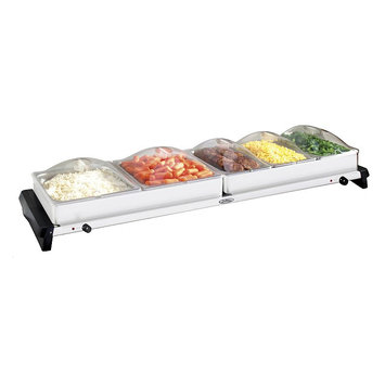 Broilking Professional Grand Buffet Server With Stainless Base