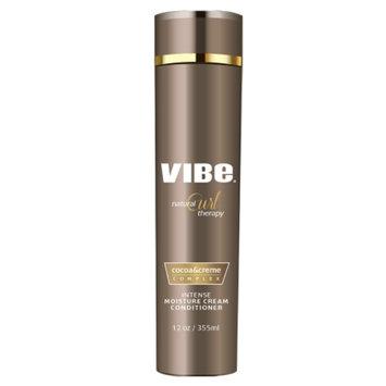 Vibe Beauty Natural Curl Therapy Intense Moisture Cream Conditioner, 12 fl oz
