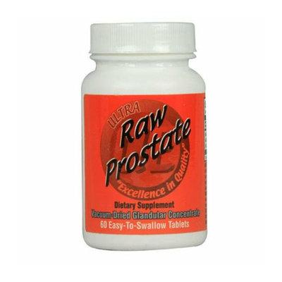 Ultra Glandulars Raw Prostate 200 mg 60 Tablets