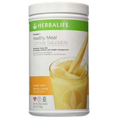 Herbalife Formula 1 Nutritional Shake Mix - Orange Cream 26.4 oz