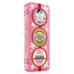 Soap & Glory Three Times Butter Gift Set