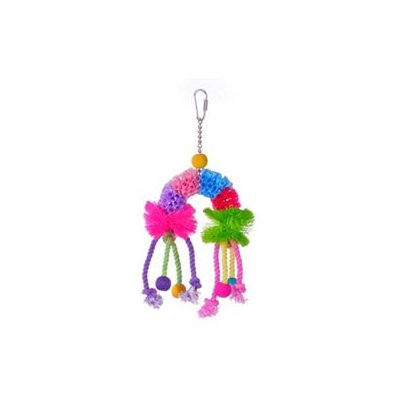 Prevue Hendryx Calypso Creations Over The Rainbow Medium Bird Toy